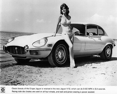 1972 Jaguar XKE Coupe & Model Factory Photo cb2194