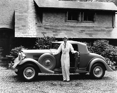 1933 Hudson Essex Terraplane & Amelia Earhart Factory Photo cb2195