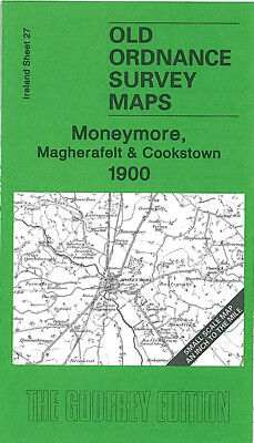 Old One Inch Map Moneymore Magherafelt Cookstown Toome The Loup 1900