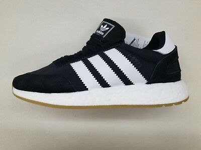 wholesale dealer d00f9 4ac7f Adidas Originals I-5923 Boost Black White Gum Sole Mens Size Sneakers D97344