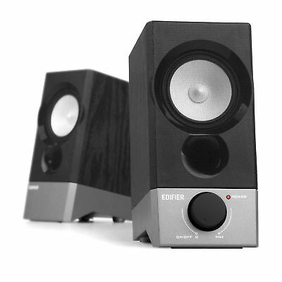 Edifier R19U Compact 2.0 Speakers Powered by USB Supports Win 10 Mac OS X 10.12