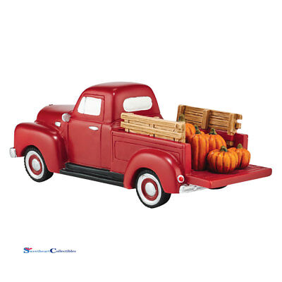Dept 56 Snow Village 4054215 Harvest Fields Pick Up Truck