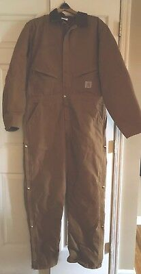 Carhartt Coveralls 46 Tall , Lined