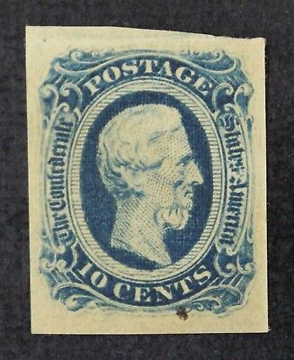 CKStamps: US Confederate States Stamps Collection Scott#12 Mint NH OG Crease