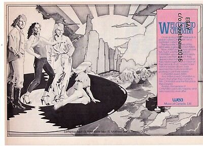 """1970's ABBA """"Canadian Tour"""" Vintage Trade Print Advertisement"""