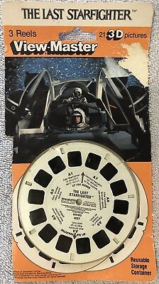 Viewmaster The Last Starfighter 3D Reels - Vintage 1984 - 21 Pictures