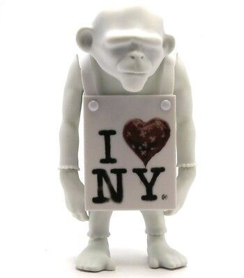 Apologies to Banksy - Laugh Now 'I HEART NY' DIY