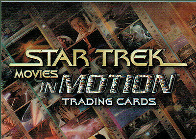 Star Trek Movies In Motion Promotional Card P1