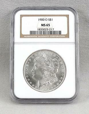 1900-O Morgan Silver Dollar! NGC Graded MS65! ABSOLUTELY GORGEOUS! Great Coin!