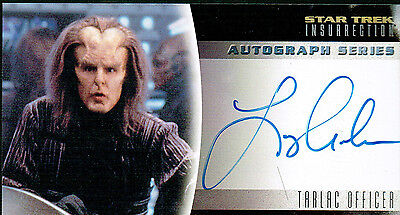 Star Trek Insurrection Autograph Card A18 Larry Anderso