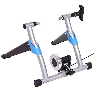 Indoor Exercise Bicycle Trainer Magnetic 8 Level Resistance Stand Stationary US