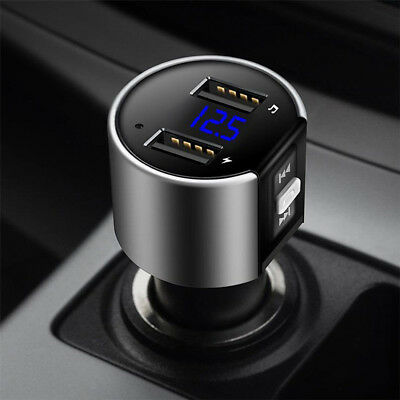 Handsfree Wireless Bluetooth Car FM Transmitter Radio MP3 Player USB Charger B