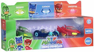 PJ Masks Die Cast Vehicle - 3 Pack 3+ Years