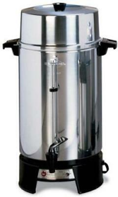 West Bend 100-Cup Polished Coffee Maker Urn - 33600