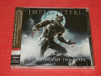 2018 Japan Cd Impellitteri The Nature Of The Beast