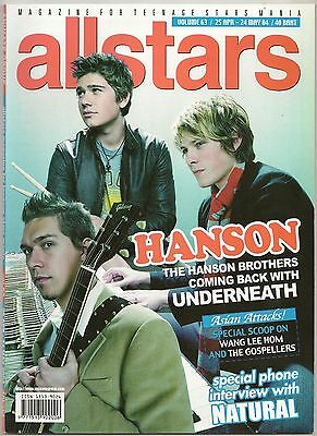 2004 HANSON Beyonce Jessica Simpson Avril Lavigne Britney Spears Wang LeehomRARE