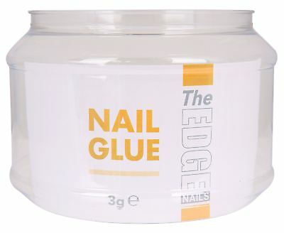The Edge Nail Adhesive Glue 3g 50 Units tips strong false nails adhesive