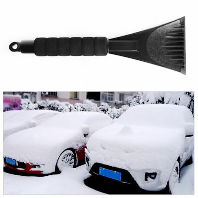 Portable Ice Scraper Car Window Soft Grip Snow Removal Brush Snow Shovel Tool