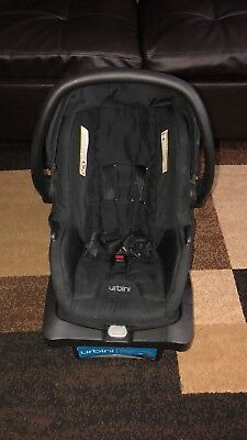 Light Weight Car Seat Urbini Sonti 5 20lbs Infant Black