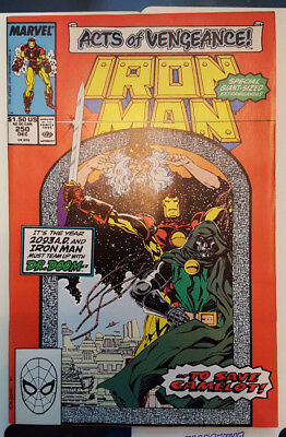 IRON MAN # 250 (Dr. DOOM APPEARS / GIANT SIZE ISSUE / 1989)
