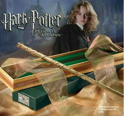 """14"""" Movie Harry Potter Hermione Granger Magic Wands Cosplay Stick Box Gift Props"""