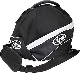 Arai Helmet Bag BLACK Suitable for most Helmets CK6 SK6 GP6 Brand New Kart Parts
