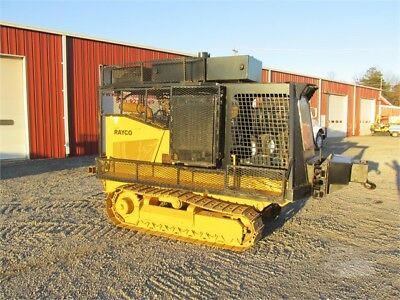 2005 Rayco Rg60 Dozer Steep Ground Track Fuel,air Compressor, Mechanics Service
