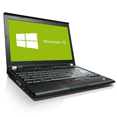 Lenovo ThinkPad X220 Notebook Intel Core i5 2x 2,5GHz 4GB RAM 320GB HDD Win10