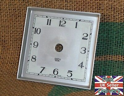 Vintage Smiths Sectric Metal Clock Face. Good Condition. (3)