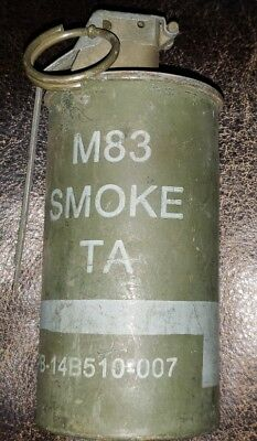 M-18 m-83 smoke canister complete U.S. military