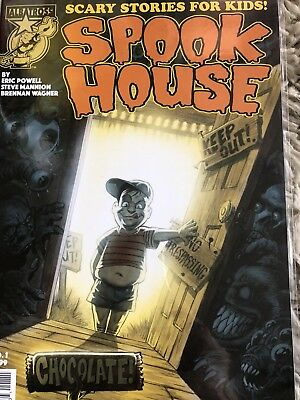 Horror Comic Collection First Issues IDW Diablo house #1 & Spook house #1 Nm