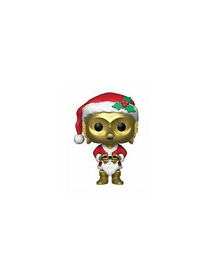 Star Wars POP! Vinyl Wackelkopf-Figur Holiday Santa C-3PO 9 cm