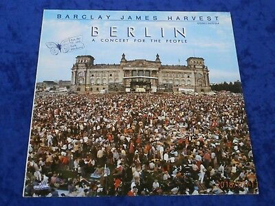 """LP BARCLAY JAMES HARVEST """" BERLIN """" A CONCERT FOR THE PEOPLE*POLYSTAR Records 82"""