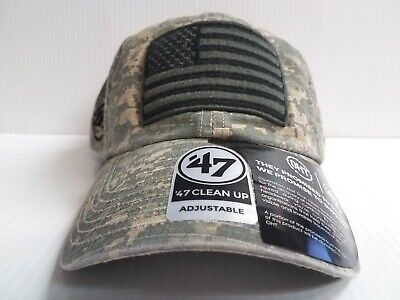 USA CAP OPERATION Hat Trick Strapback 47 Brand Clean Up