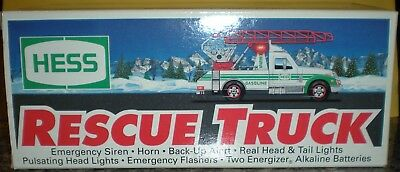 1994 Hess Rescue Truck, With Box
