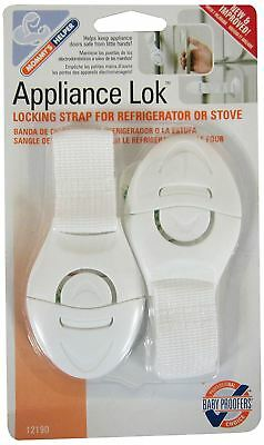 Mommy's Little Helper Appliance Lock, Locking Strap For Refrigerator Or Stove