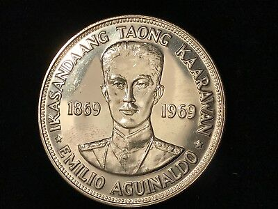 T2: Philippines 1969 Silver Proof Like Piso. Free Shipping / Free Returns in U.S