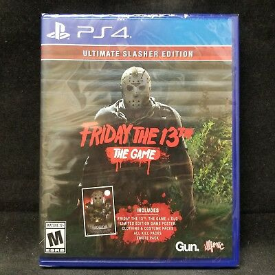 Friday the 13th: The Game - Ultimate Slasher Edition (PlayStation 4) BRAND NEW