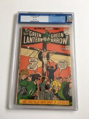 Green Lantern #89 - Cgc 7.5 - Final Adams/o'Neil