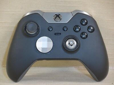 Microsoft Xbox One Elite Wireless Controller,Gamepad,Black,Missing Accessories