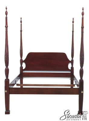 44296EC: COUNCILL CRAFTSMEN Queen Size Mahogany Poster Bed
