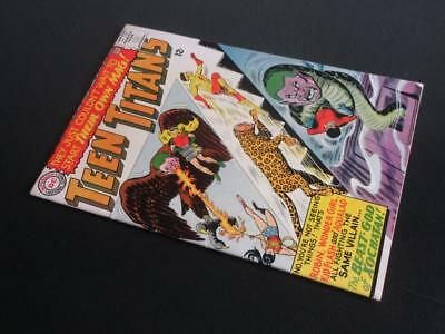Teen Titans #1 - HIGH GRADE - MARVEL 1966 - Titans join The Peace Corps!!!!