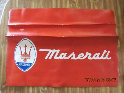 Maserati Automotive Fender Cover / Paint Protector Made In U.s.a. Vhtf! Rare!