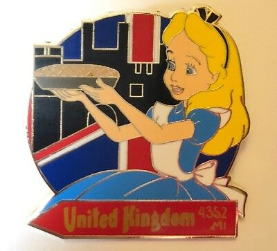 Disney 2018 Epcot Food And Wine Festival Mystery Box Alice In Wonderland LR Pin