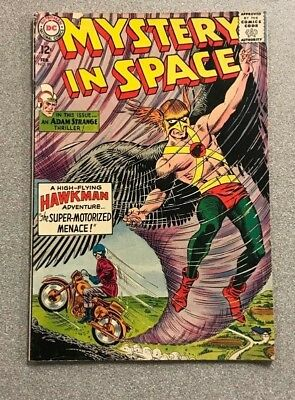 Mystery In Space #89 Hawkman Silver Age Vg+ Rare