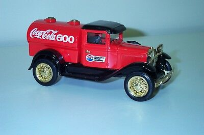 1993 Limited edition Coca Cola 600 Ford Model A Tanker Truck Bank