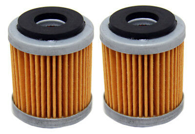 Factory Spec brand Oil Filters - 2 Pack - Yamaha WR250F YZ250F WR450F YZ450F