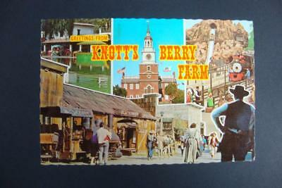 522) Buena Park Ca ~ The Knott's Berry Farm ~ Log Ride Flume ~ Independence Hall