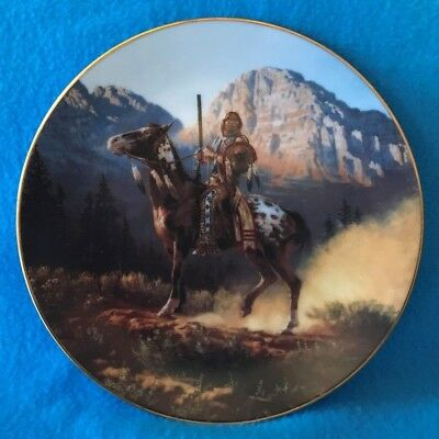 Top Gun Collectible Plate From the Mystic Warriors Collection