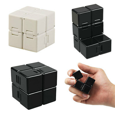 Infinity Cube Mini Fidget Toy Finger EDC Anxiety Stress Relief Magic Cube Blocks